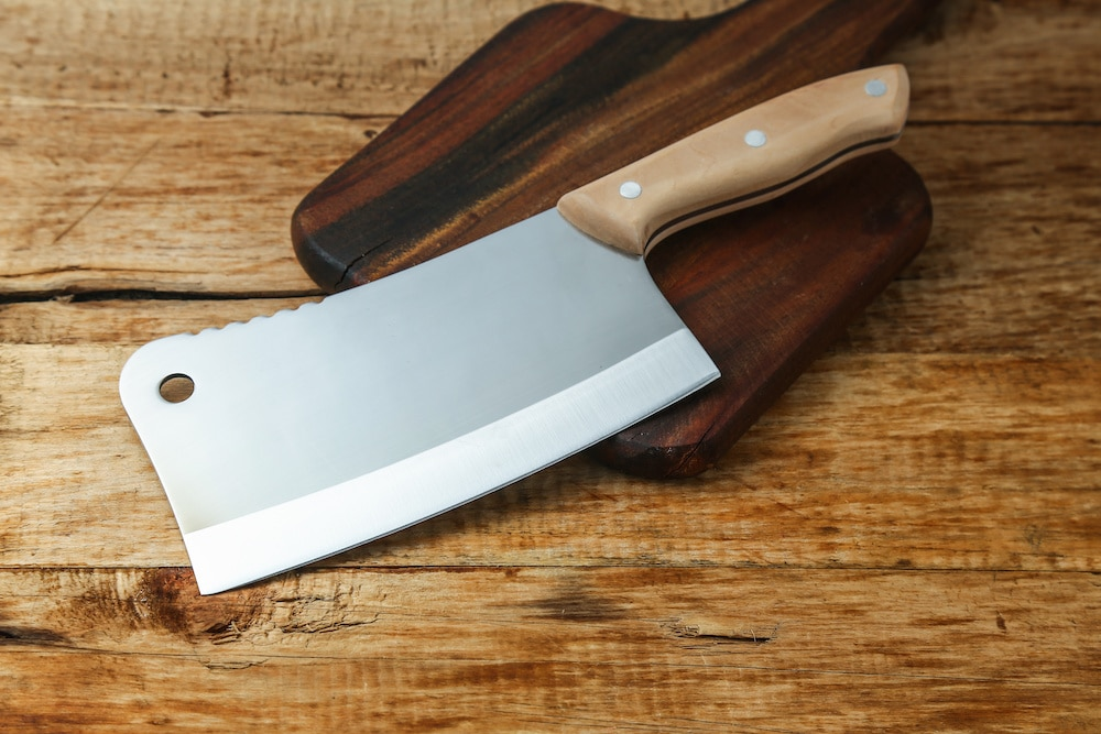 juvale 8-inch meat cleaver review