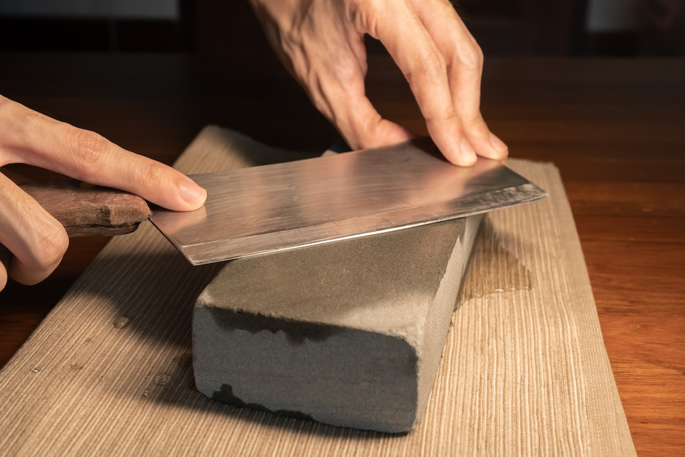 tips on how to sharpen a meat cleaver